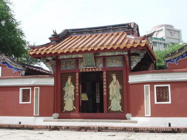 台南市健行之二:法华寺,德化堂,五妃庙,孔庙,萧氏牌坊